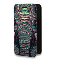 Дизайнерский горизонтальный чехол-книжка для LG Optimus G2 Дизайнерские