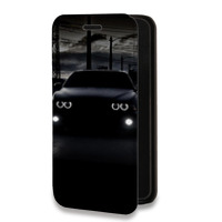 Дизайнерский горизонтальный чехол-книжка для LG X cam Автомобили