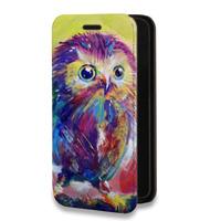 Дизайнерский горизонтальный чехол-книжка для Iphone 5s Животные