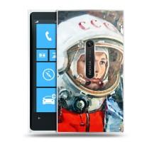 Дизайнерский пластиковый чехол для Nokia Lumia 920 Космос