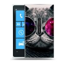 Дизайнерский пластиковый чехол для Nokia Lumia 920 Животные