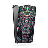 Дизайнерский вертикальный чехол-книжка для Samsung Galaxy Note 4 Мистика