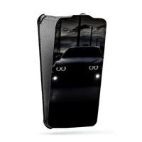 Дизайнерский вертикальный чехол-книжка для HTC One (M7) Dual SIM Автомобили