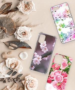 Дизайнерский силиконовый чехол для LG K10 (2017) Цветы