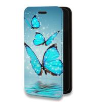 Дизайнерский горизонтальный чехол-книжка для Samsung Galaxy S7 Животные