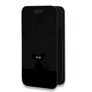 Дизайнерский горизонтальный чехол-книжка для Samsung Galaxy A7 Абстракции