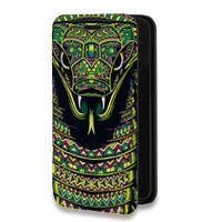 Дизайнерский горизонтальный чехол-книжка для Samsung Galaxy S7 Дизайнерские