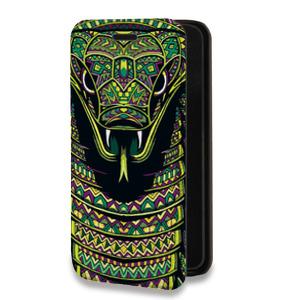 Дизайнерский горизонтальный чехол-книжка для Samsung Galaxy A7 Дизайнерские