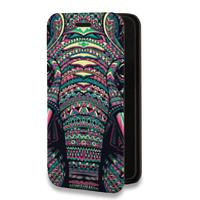 Дизайнерский горизонтальный чехол-книжка для Iphone 6/6s Дизайнерские
