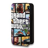 Дизайнерский горизонтальный чехол-книжка для Samsung Galaxy Grand Prime Игры