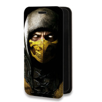 Дизайнерский горизонтальный чехол-книжка для Samsung Galaxy S7 Игры