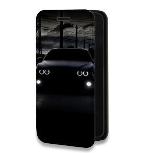 Дизайнерский горизонтальный чехол-книжка для ZTE Blade A910 Автомобили