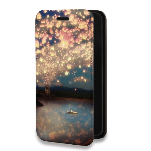 Дизайнерский горизонтальный чехол-книжка для Xiaomi RedMi Note 4 Креатив дизайн (на заказ)