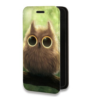 Дизайнерский горизонтальный чехол-книжка для Iphone 6/6s Животные