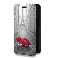 Дизайнерский горизонтальный чехол-книжка для Iphone 6 Plus/6s Plus Креативные