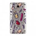Полупрозрачный дизайнерский пластиковый чехол для Xiaomi RedMi Note 4 Абстракции 2 (на заказ)