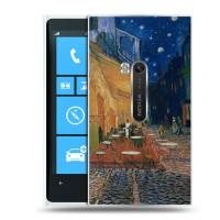 Дизайнерский пластиковый чехол для Nokia Lumia 920 Живопись