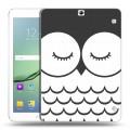 Дизайнерский силиконовый чехол для Samsung Galaxy Tab S2 9.7 Эмоциональные морды