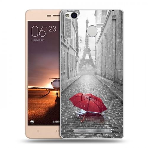 Дизайнерский пластиковый чехол для Xiaomi RedMi 3 Pro / 3S Креатив дизайн (на заказ)