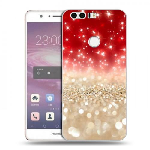 Дизайнерский пластиковый чехол для Huawei Honor 8 Креатив дизайн (на заказ)