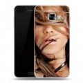 Дизайнерский пластиковый чехол для Samsung Galaxy C5 Дженнифер Лопес