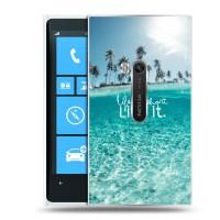 Дизайнерский пластиковый чехол для Nokia Lumia 920 Природа