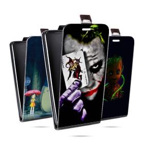 Дизайнерский вертикальный чехол-книжка для HTC Desire 12 Фильмы