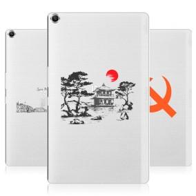 Дизайнерский силиконовый чехол для ASUS ZenPad 8 Города
