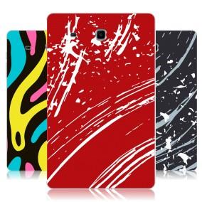 Дизайнерский силиконовый чехол для Samsung Galaxy Tab E 9.6 Абстракции