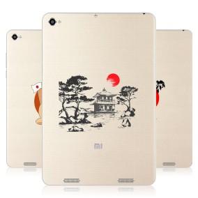 Дизайнерский силиконовый чехол для Xiaomi Mi Pad 2 Прозрачная япония