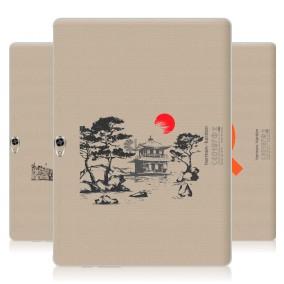 Дизайнерский пластиковый чехол для Huawei MediaPad M2 10 Города