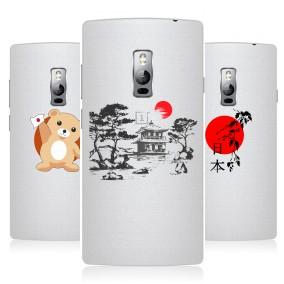 Дизайнерский пластиковый чехол для OnePlus 2 Прозрачная япония