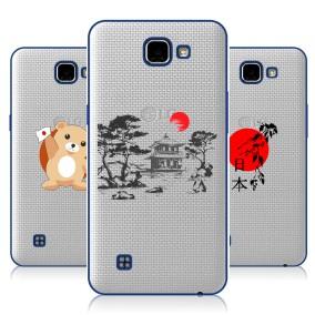Дизайнерский пластиковый чехол для LG K4 Прозрачная япония