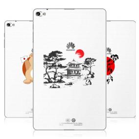 Дизайнерский силиконовый чехол для Huawei MediaPad T2 10.0 Pro Прозрачная япония