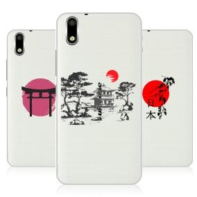 Дизайнерский пластиковый чехол для Ulefone Paris Прозрачная япония