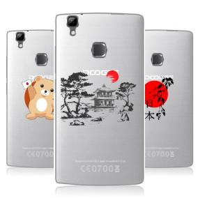Дизайнерский силиконовый чехол для Doogee X5 Max Прозрачная япония