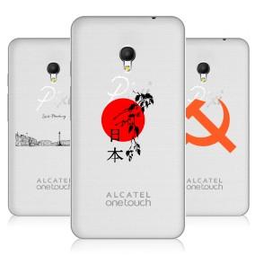 Дизайнерский силиконовый чехол для Alcatel Pixi 4 (5) 5010D Города