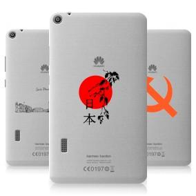 Дизайнерский силиконовый чехол для Huawei MediaPad T3 7 Города