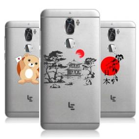 Дизайнерский силиконовый чехол для LeRee Le3 Прозрачная япония