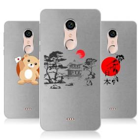 Дизайнерский силиконовый чехол для BQ Strike Selfie Max Прозрачная япония