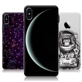 Дизайнерский пластиковый чехол для Iphone x10 Космос