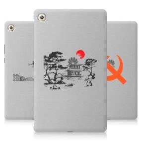 Дизайнерский силиконовый чехол для Huawei MediaPad M5 8.4 Города