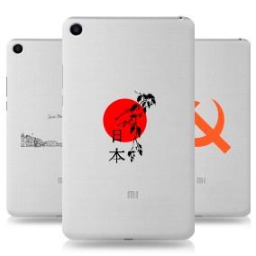 Дизайнерский силиконовый чехол для Xiaomi Mi Pad 4 Города
