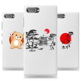 Дизайнерский силиконовый чехол для BlackBerry KEY2 LE Прозрачная япония