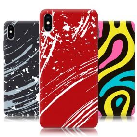 Дизайнерский пластиковый чехол для Iphone Xs Max Абстракции