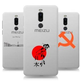 Дизайнерский силиконовый чехол для Meizu X8 Города