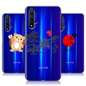 Дизайнерский силиконовый чехол для Huawei Honor 20 Прозрачная япония