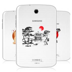 Дизайнерский силиконовый чехол для Samsung Galaxy Note 8.0 Прозрачная япония