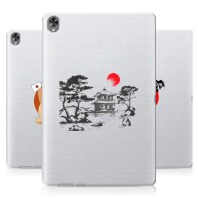 Дизайнерский силиконовый чехол для Huawei MediaPad M6 10.8 Прозрачная япония