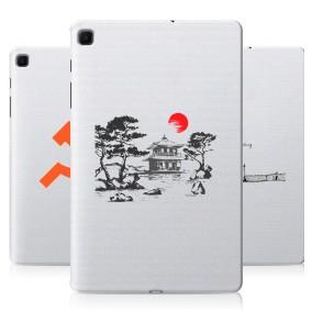 Дизайнерский силиконовый чехол для Samsung Galaxy Tab S6 Lite Города